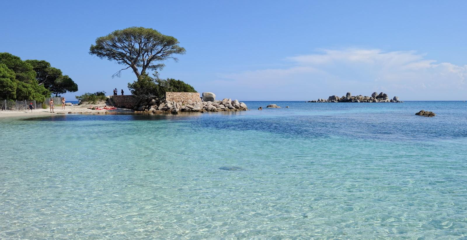 La plage Rondinara en Corse