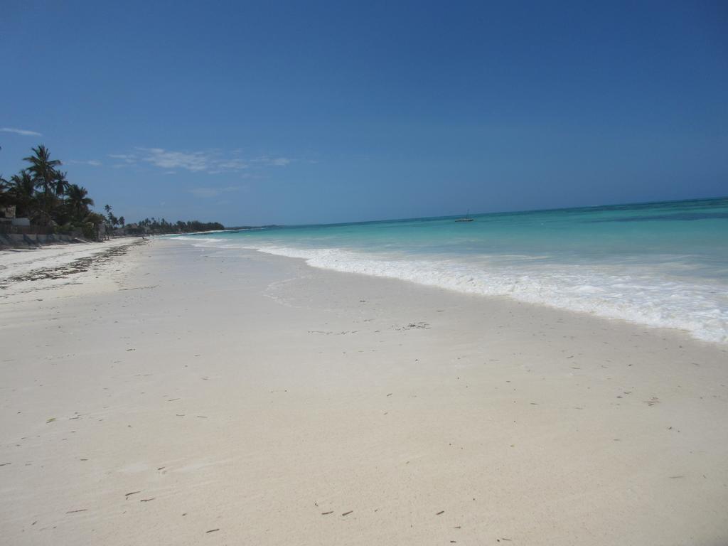 La plage de Jambiani en Tanzanie