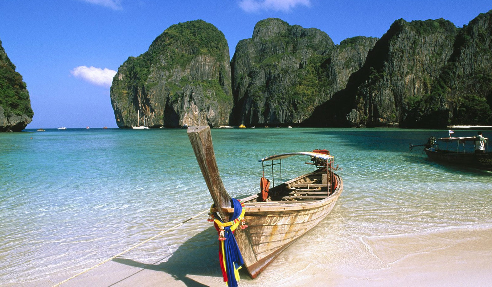 La plage de Ko Pha-Ngan en Thaïlande