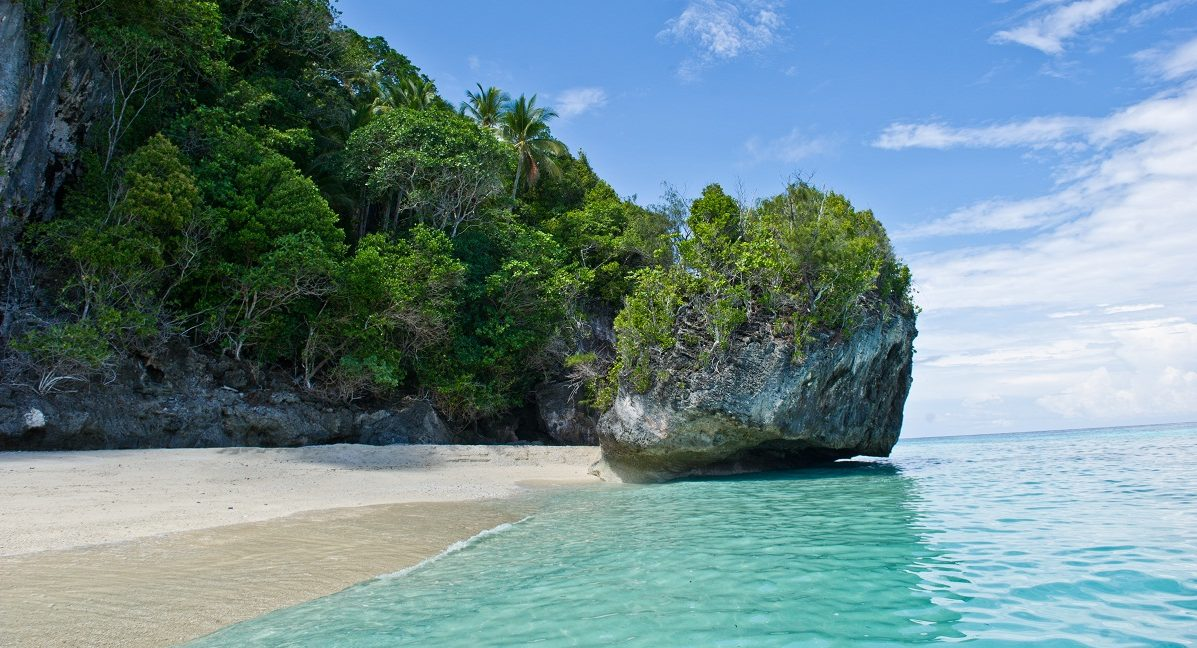 Les plages des îles Kai en Indonésie