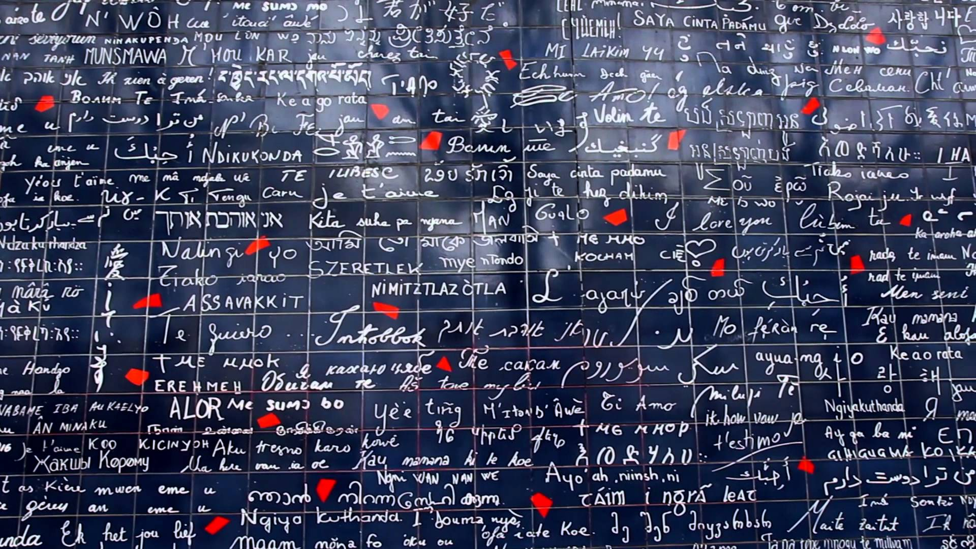 Le mur de l'amour paris