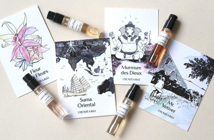 échantillons de parfums