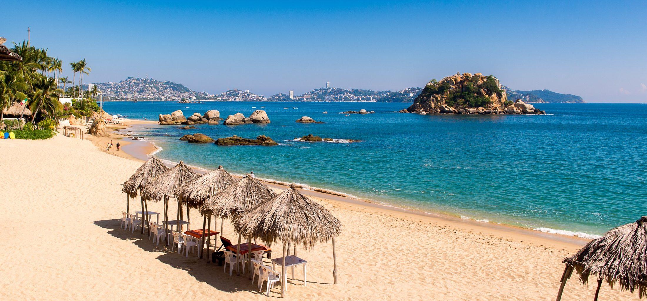 Acapulco plage mexique