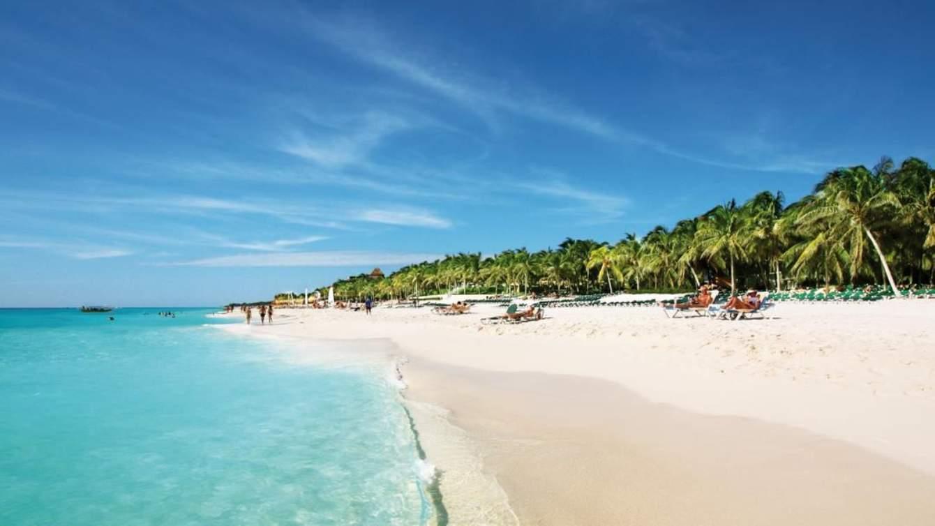 plage Tulum mexique