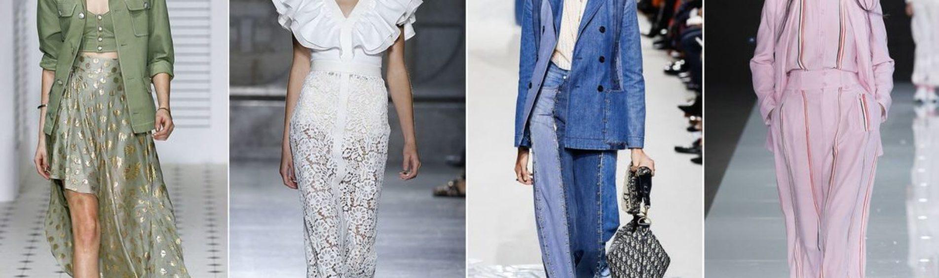 Mode pour femme printemps-été 2018